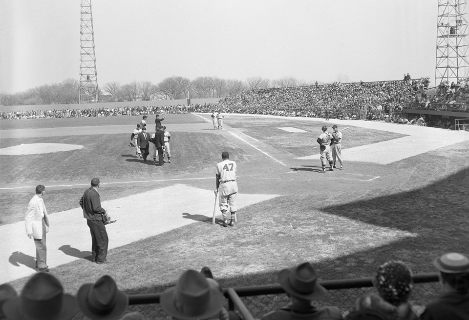 Rosenblatt Stadium St. Louis vs Chicago game 1957
