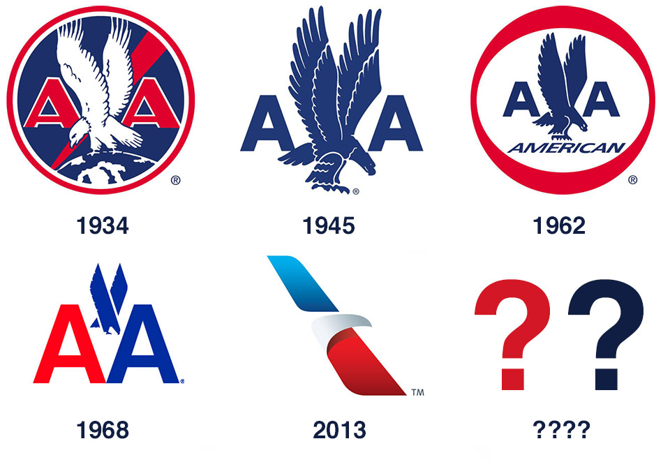 Behind The Scenes American Airlines Logo Proposal Kagavi